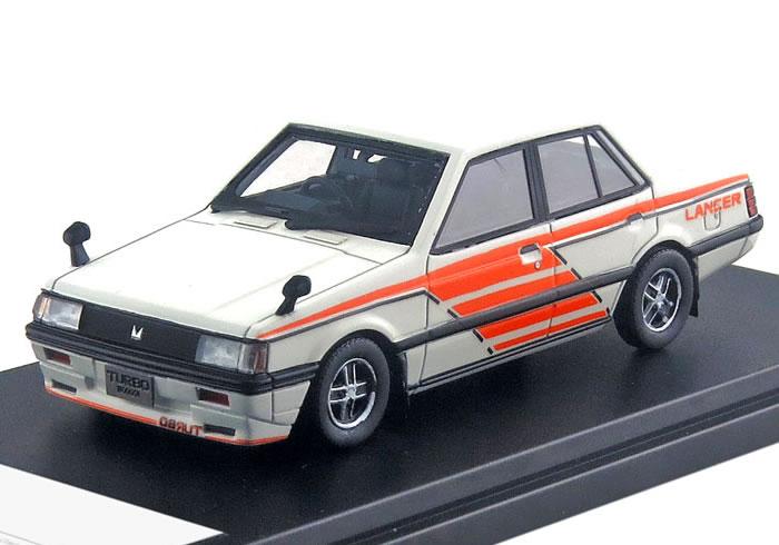 ハイストーリー 1/43 三菱 ランサー EX 1800 GSR TURBO 1981 ワークスカラー