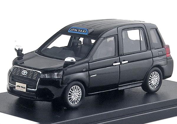 ハイストーリー 1/43 トヨタ ジャパンタクシー 匠 2018 ブラック