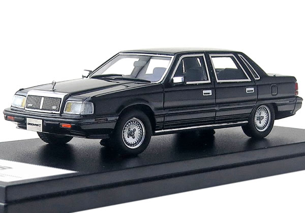 ハイストーリー 1/43 三菱 デボネア V 3000 ロイヤル 1987 セルビアブラック