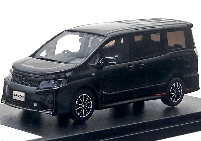 ハイストーリー 1/43 トヨタ ヴォクシー ZS GR SPORTS 2019 (ZRR80W) ブラック