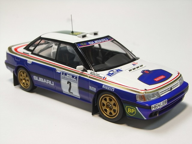Manx Rally 1991 Subaru Legacy RS Colin McRae 1:43 HPI 8269 mR