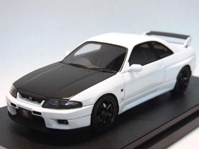 【新宿おもちゃカーニバル&アイアイアドカンパニー】 HPI 1/43 日産 スカイライン R33 GT-R V-spec N1 ホワイト