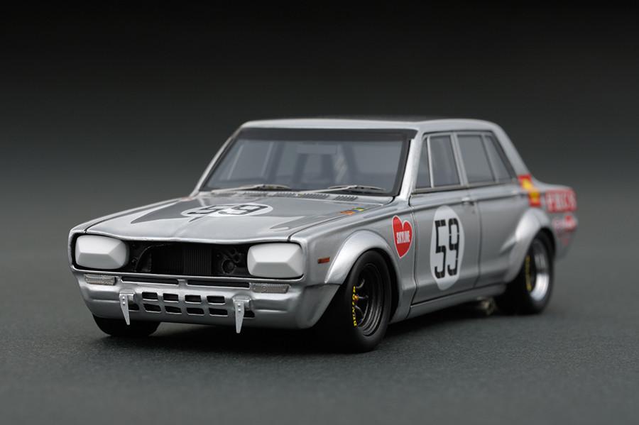 ignition model 1/43 日産 スカイライン 2000 GT-R (PGC10) No.59 JAFグランプリ 1970