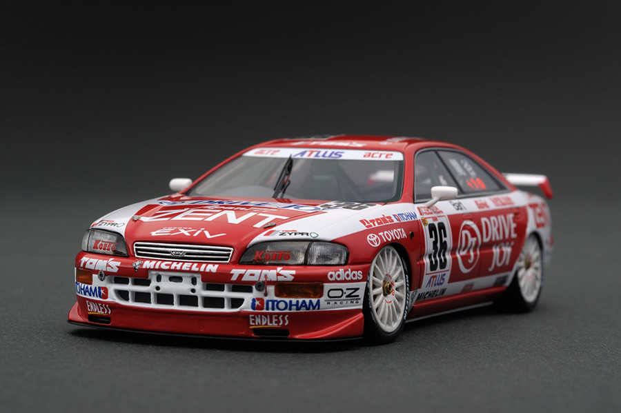 ignition model 1/43 ZENT DJ TOM`S EXiV No.36 JTCC 1996