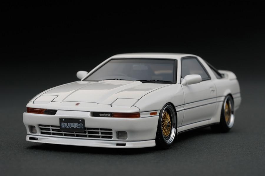 ignition model 1/43 トヨタ スープラ 3.0 GT (A70) パールホワイト (BBS RSホイール)