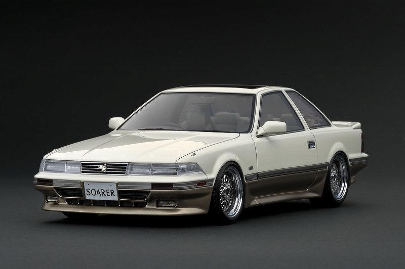 ignition model 1/18 トヨタ ソアラ 3.0GT リミテッド (Z20) パールホワイトII (BBS RSホイール)