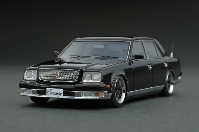 ignition model 1/43 トヨタ センチュリー (GZG50) ブラック (BBS LMホイール ブラック)