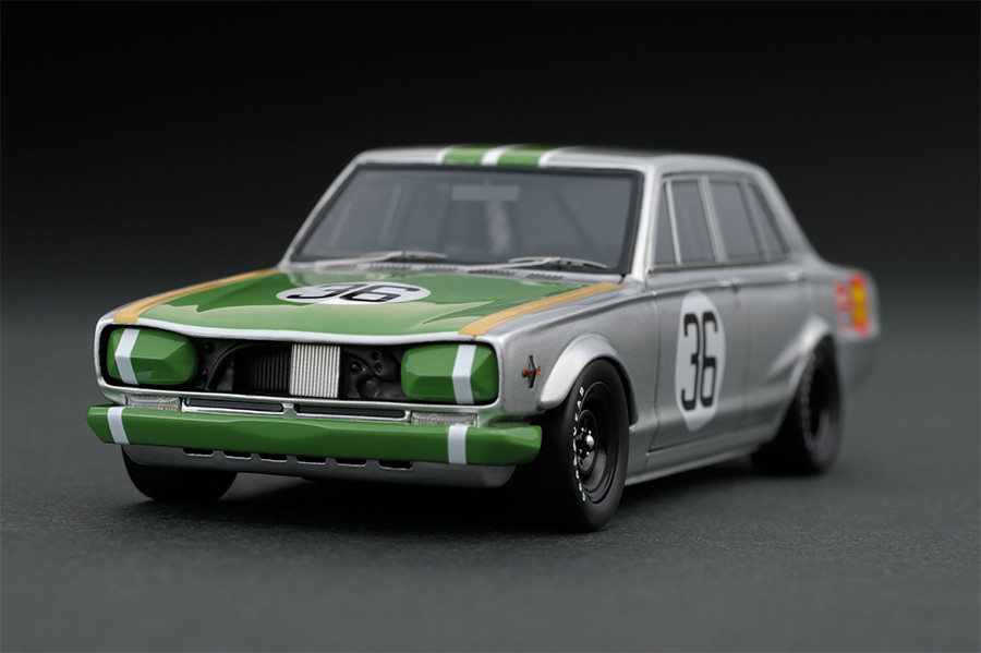 ignition model 1/43 日産 スカイライン 2000 GT-R (PGC10) No.36 JAFグランプリ 1969