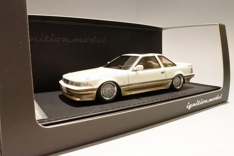 ignition model 1/43 トヨタ ソアラ 3.0GT リミテッド (Z20) ホワイトII (BBS RSホイール)