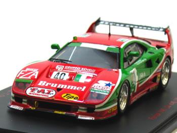 レッドライン 1/43 フェラーリ F40 No.40 ルマン24時間 1995