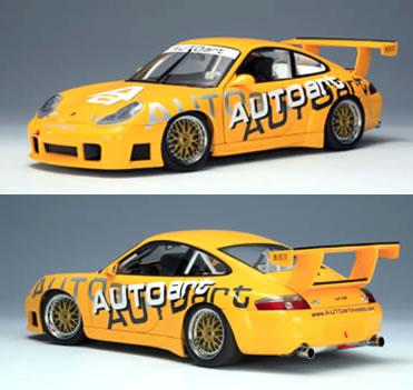 オートアート 1/18 ポルシェ 911 GT3R AUTOart エディション