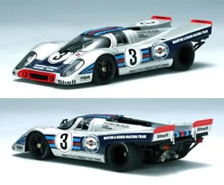 オートアート 1/43 ポルシェ 917K No.3 セブリング優勝車 1971