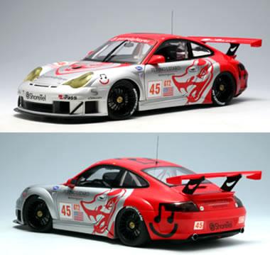 送料無料 オートアート 1/18 ポルシェ 911 LIZARD GT3 1/18 RSR ALMS GT2 No.45 2006 FLYING LIZARD No.45, おもてなし考房:d3aa35de --- clftranspo.dominiotemporario.com
