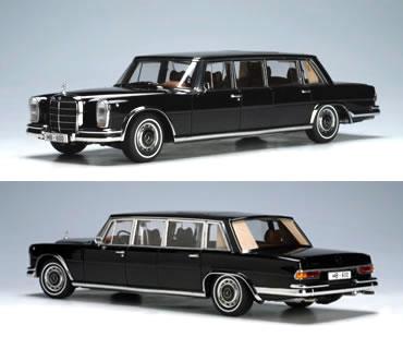 Autoart 1/18 Mercedes-Benz 600 LWB Pullman black