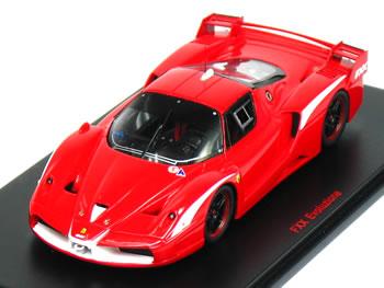 レッドライン 1/43 フェラーリ FXX Evo. 2008 レッド
