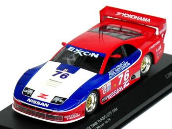 【絶版品】京商 1/43 NISSAN 300ZX ツインターボ GTS No.76 デイトナ24時間 総合優勝車 1994