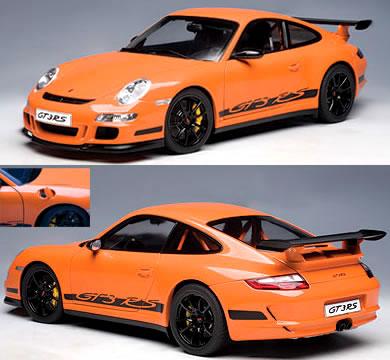 オートアート 1/12 ポルシェ 911 (997) GT3 RS オレンジ