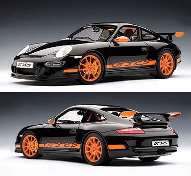 オートアート 1/12 ポルシェ 911 (997) GT3 RS ブラック