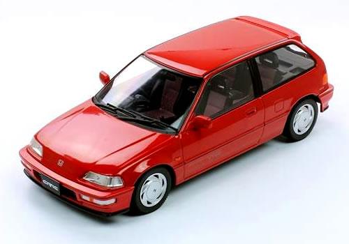 Triple9 1/18 ホンダ シビック SiR VTEC (EF-9) 1990 レッド