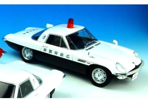 First18 1/18 マツダ コスモスポーツ 広島県警察 警察車両