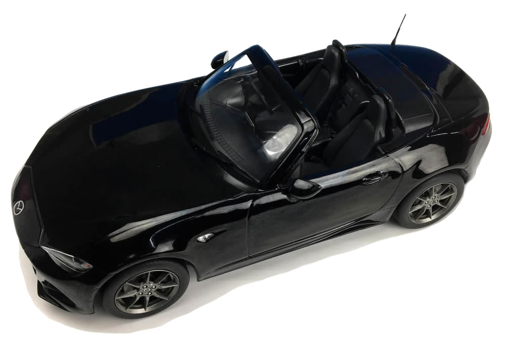 Car Hobby Shop Answer First18 1 18 Mazda Mx 5 Nd Jet Black Maika