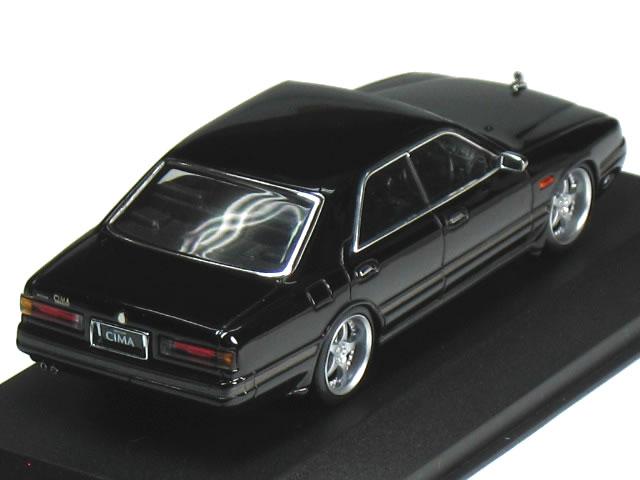 Kyosho 1/43 Nissan Cima FY31 NEW SCARA JAPAN specifications black