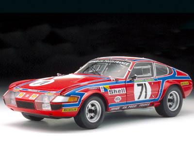 京商 1/18 フェラーリ 365GTB/4 デイトナ コンペツォーネ No.71 ルマン 1974