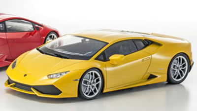 car hobby shop answer rakuten global market kyocera dealer 1 18 lamborghini huracan yellow pearl. Black Bedroom Furniture Sets. Home Design Ideas