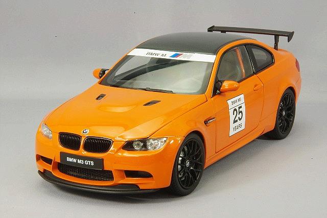京商 1/18 BMW M3 GTS (E92) ファイアーオレンジ