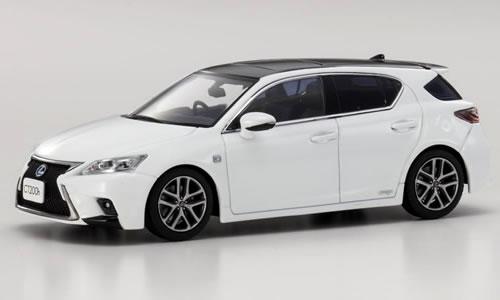 Kyosho 1 43 Lexus Ct 200h F Sport White Nova Gl Flake Ks03656w2