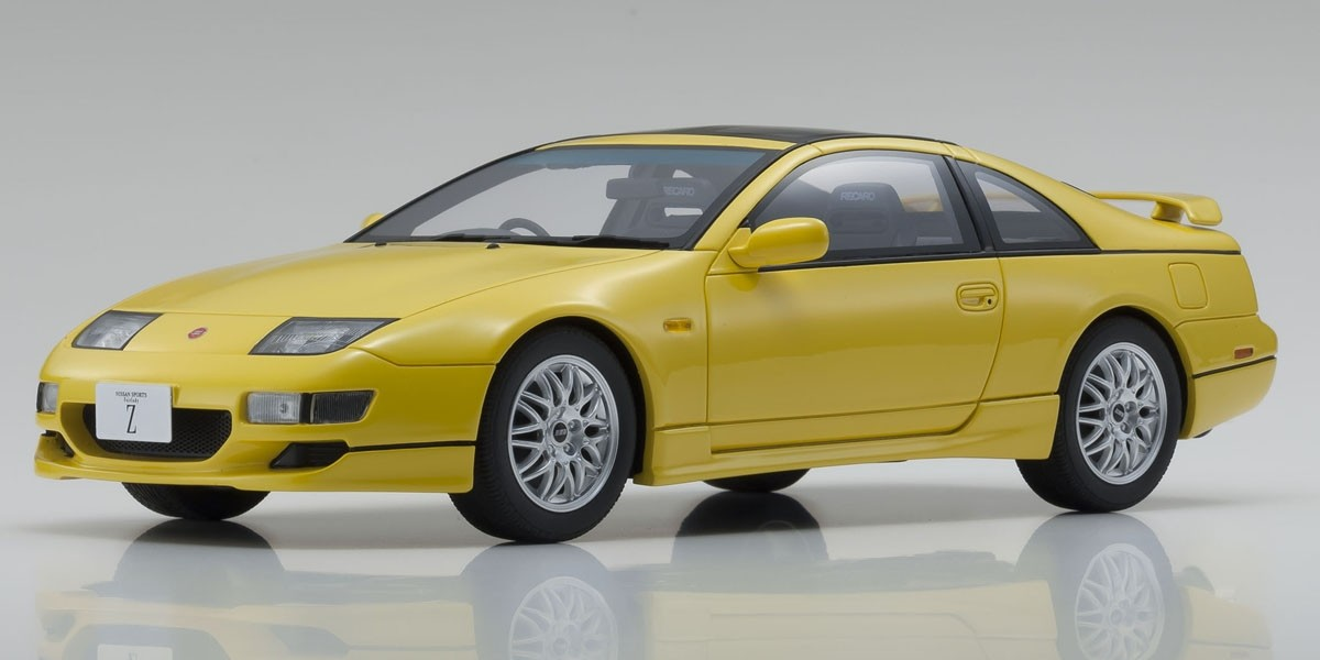Nissan Fairlady Z >> Kyosho Samurai 1 18 Nissan Fairlady Z 2by2 Twin Turbo Z32 Version R Lighting Yellow