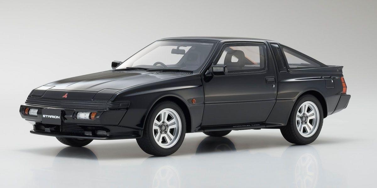 京商 Samurai 1/18 三菱 スタリオン GSR-VR ブラック
