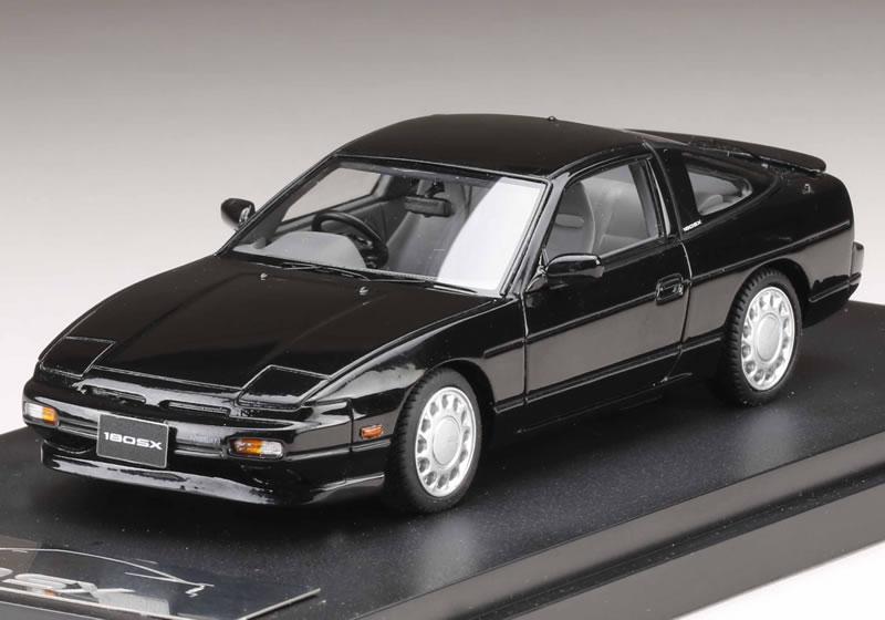 Earlier period of MARK43 1/43 Nissan 180SX TYPE II model supermarket black
