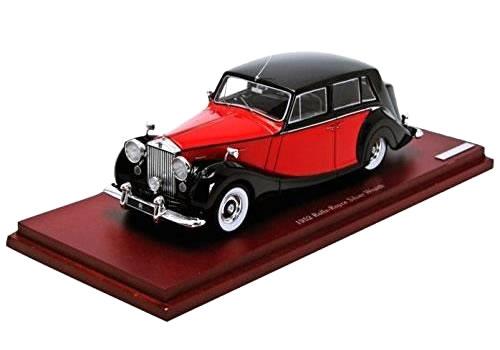TrueScale miniatures 1/43 ロールスロイス シルバーレイス ロイヤル 1952 レッド/ブラック