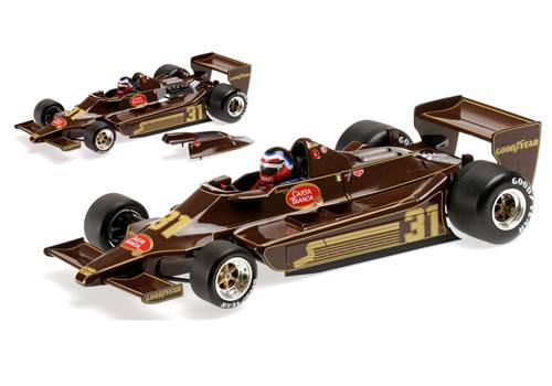 ミニチャンプス 1/18 Lotus Ford 79 No.31 1979 (H.Rebaque)