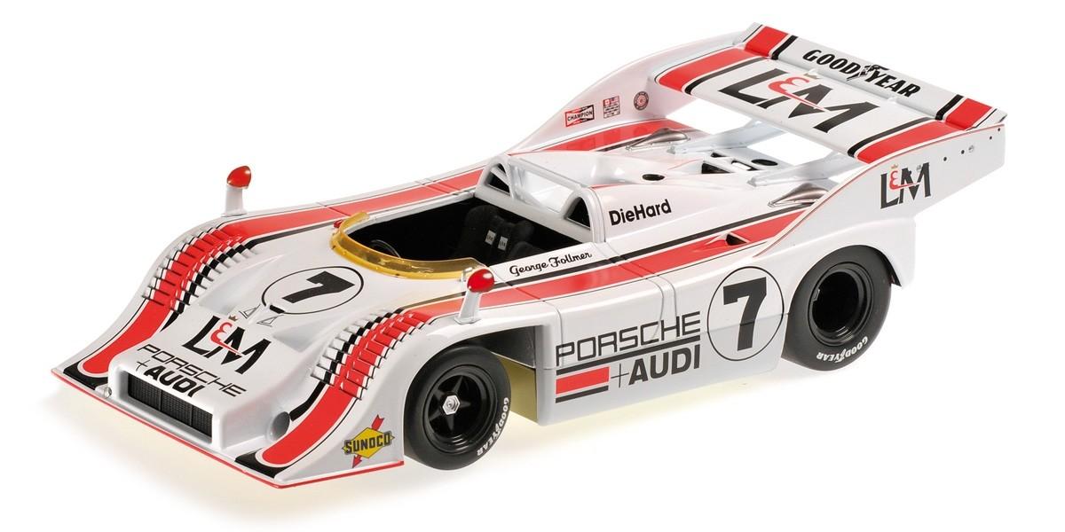 ミニチャンプス 1/18 ポルシェ 917/10 TEAM PENSKE カンナムシリーズ チャンピオン 1972 (GEORGE FOLLMER)