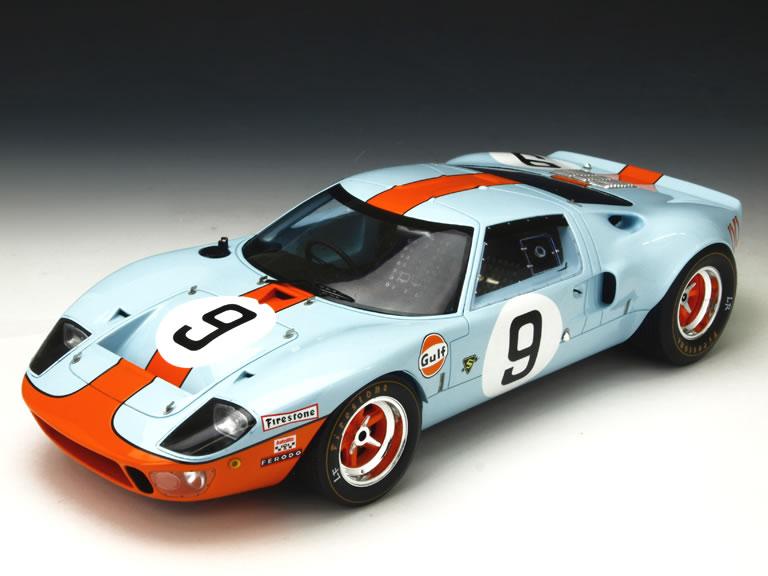 Spark 1/18 フォード GT40 No.9 ルマン24時間 優勝車 1968 (P.Rodoriguez/L.Bianchi)