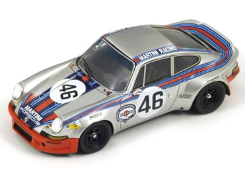 Spark 1/18 Porsche 911 Carrera RSR No.46 4th Le Mans 1973 (G.van Lennep/H.Muller)