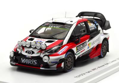 Spark 1 43 Toyota Yaris Wrc No 10 Winner Rally Sweden 2017 J M Latvala M Anttila