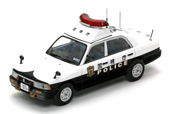 【絶版】◆宮沢模型特注品◆レイズ 1/43 日産 クルー 2007 警視庁 所轄署 地域警ら車両 【丸3】