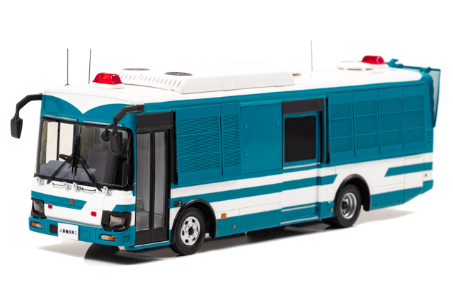 RAI'S 1/43 いすゞ エルガミオ 2018 警察本部 警備部 機動隊 大型人員輸送車両