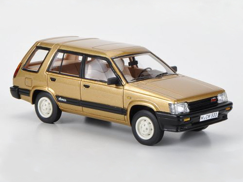 2019人気No.1の NEO NEO 1/43 ターセル トヨタ 1983 ターセル 4WD 1983 メタリックゴールド, ブライダルインナー ブルースター:e1cf91fe --- konecti.dominiotemporario.com