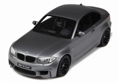 GT SPIRIT 1/18 BMW 1M クーペ マットグレー