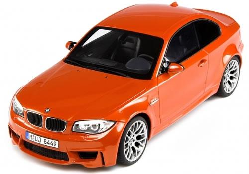 GT SPIRIT 1/18 BMW 1M クーペ オレンジ