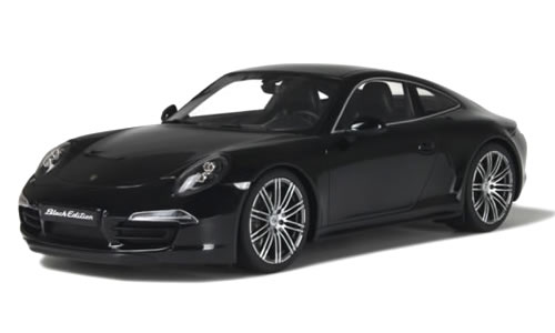 GT SPIRIT 1/18 ポルシェ 911 カレラ ブラックエディション ブラック