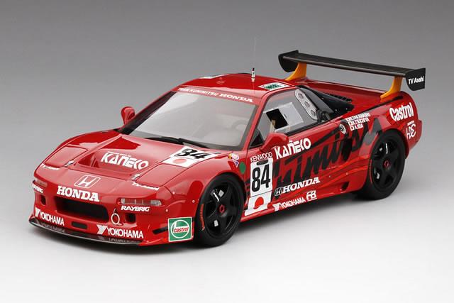 チーム国光 ル・マン24時間 1995 GT2 ホンダ miniatures No.84 TrueScale GT2クラス優勝車 NSX 1/18