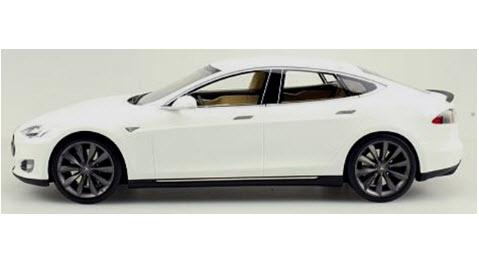 TOPMARQUES 1/18 テスラ モデル S 2012 ホワイト