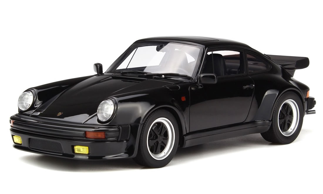 GT SPIRIT 1/18 ポルシェ 911 ターボ S ブラック