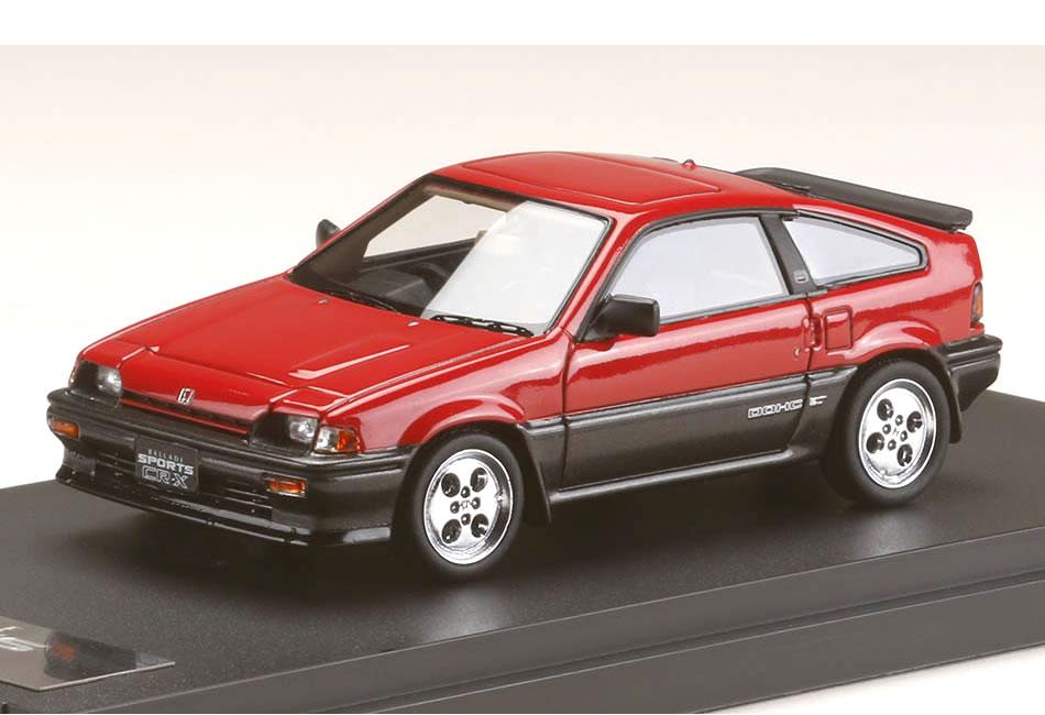MARK43 1/43 Honda ballad sports CR-X Si (AS) red