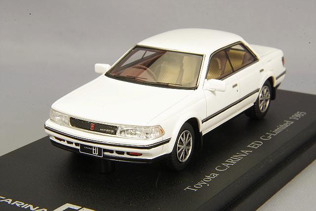 CAM@ 1/43 トヨタ カリーナ ED Gリミテッド (ST162) 1985 スーパーホワイト